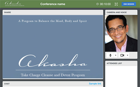 Group Cleanse webinar screenshot