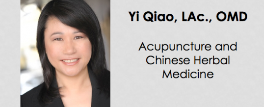 Practitioner Highlight: Yi Qiao, LAc., OMD