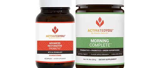 Supplement Savvy:  Morning Compete and Probiotics by Activated You
